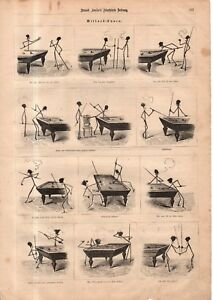 1875 Leslies illustrated September 4 - How to play German Billiards
