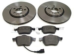 SEAT LEON 1.9 TDI 150 FR 1999-2005 FRONT 2 BRAKE DISCS AND PADS SET NEW