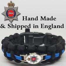 More details for surrey police badged survival bracelet tactical edge.