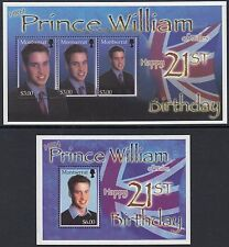 Elizabeth II (1952-Now) Royalty Montserratian Stamps