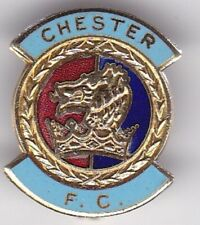 CHESTER CITY FC NON LEAGUE ENGLAND COFFER 1990S FOOTBALL BADGE