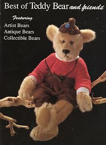 Antique Collectible and Artist Bears - Types Makers / In-Depth Illustrated Book