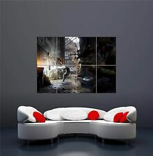 Watch DOGS ps3 gioco pc NUOVO GIGANTE Wall Art Print PICTURE POSTER oz1145