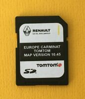 NEU RENAULT TomTom CARMINAT V10.45 SD CARD EUROPE  MAP 2020 - 2021