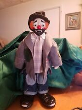 "Emmet Kelly-House of Llyod Porcelain Hobo Clown-""Weary Willy"" Reduced- No Box"