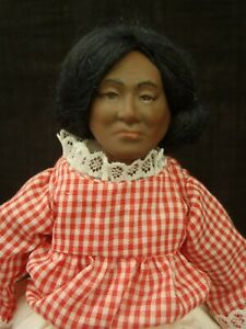 One of a kind Bisque Artist doll by Joyce Watkins TX c1978