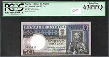 Angola - 50 Escudos Note - 1973 - P105a - PCGS-63PPQ