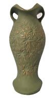 VTG McCoy Mt. Clemens Pottery (MCP) Starburst MCM Vase Retro Olive Green