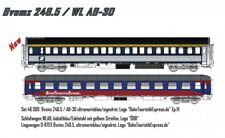 L.S. Models 46009 2tlg. Set Bvcmz248 D-BTEX/WLAB-30 Inox ÖBB Ep.VI Bahntouristik