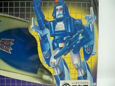 K1805731 SCOURGE W/ FOREIGN BOX & UNUSED DECALS G1 TRANSFORMERS 100% COMPLETE