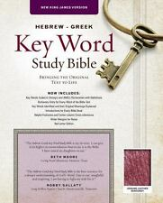 HEBREW-GREEK KEY WORD STUDY BIBLE - AMG PUBLISHERS (COR) - NEW PAPERBACK BOOK