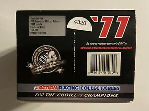 2011  #29 RCR KEVIN HARVICK  MILITARY TRIBUTE  FLASHCOAT  1/24th SCALE #4320