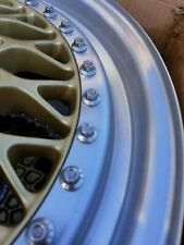 BBS 3 piece wheel RS017 Porsche 928 16x8  offset 62   Made in West Germany