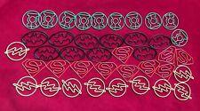JUSTICE LEAGUE 40 PIECE Paper Clip SET Batman Superman Flash Green Lantern NEW