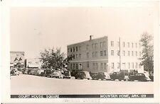 Court House Square in Mountain Home AR RP Postcard