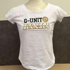 NEW, Genuine G-unit White Women's T-shirts Size Extra-Large MSRP-$38.50