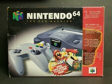 Nintendo 64 Game Console Box - WalMart Exclusive Varient - Box Only