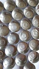 100 Tealight Candle Moulds for DIY candles. Aluminium Foil Tea Lights Cups.