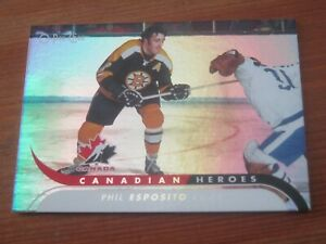 2009 10 OPC O Pee Chee Canadian Heroes Foil #CBH  7 Phil Esposito - Bruins   ZH1