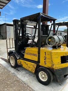 "Yale Forklift Propane GLP040 - Lift 186"" 6,000 LB"