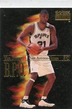 Tim Duncan 1998-99 SkyBox Premium B.P.O. Insert Card #5 San Antonio Spurs