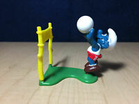 YELLOW CAR SUPER SMURF VINTAGE by SCHLEICH FROM THE SMURFS 20910