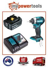 MAKITA DTD154 18V BRUSHLESS IMPACT DRIVER + BL1850B 5.0AH BATTERY DC18RC CHARGER
