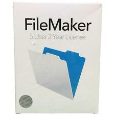 FileMaker 5 User 2 Year License for Winodws and Mac