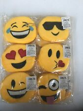 Emoji Coin Purses Set Of 6 Fast Free Shipping