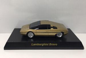 Kyosho 1/64 Lamborghini Bravo Diecast Car Model Gold
