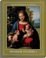 The Art Institute of Chicago: Museum Studies 7 - 1972 - Correggio, Degas