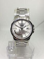 Casio Quartz Mens Stainless Steel Clear Dial Watch MTP-E102D-7AVDF