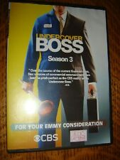 "Undercover Boss Emmy DVD 1episode  ""CHECKERS & RALLY'S"" Reality TV ."