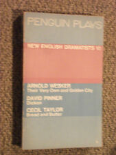 Penguin Play PL70 New English Dramatists 10 Arnold Wesker David Pinner C. Taylor