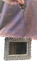 ANTIQUE ANCIENT ISLAMIC TRADITIONAL WOMEN'S HAREM SP WALL HANGING ORNATE MIRROR