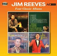 JIM REEVES - FOUR CLASSIC ALBUMS  2 CD NEW!