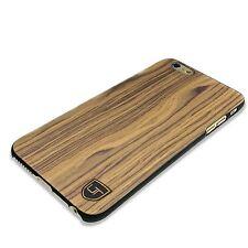 iPhone 6 Plus 6s Plus Holz Wood Hülle Case Cover Plastik UTECTION Crust Braun