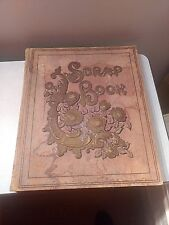 Early 1900's Scrap Book Full, Robert E. Peary, Pres. Taft, Fdr, Vacation Spots