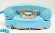 Aqua Blue Western Electric Rotary Princess Telephone - Full Restoration