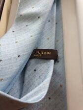 Louis Vuitton Silk Tie 8.5cm. With Original Box