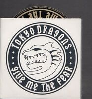 TOKYO DRAGONS Give Me The Fear RARE PROMO CD ALBUM IN CARD slv