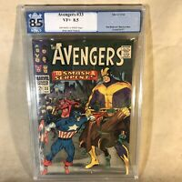 Avengers #33 1966 Marvel Comics PGX Graded 8.5