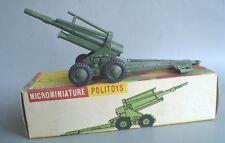 POLITOYS APS N°2 MORTAIO A.B.S. DA 155mm SCALA 1:41 CON SCATOLA ORIGINALE