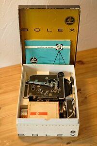 🔥🔥  Exceptional Bolex H16 Rex-4 original case / motor NOS  🔥🔥