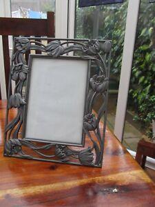 Art Nouveau Style  Picture Frame, Metal