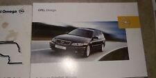 Bedienungsanleitung Opel Omega Facelift Serviceheft Bedienung 10/2002