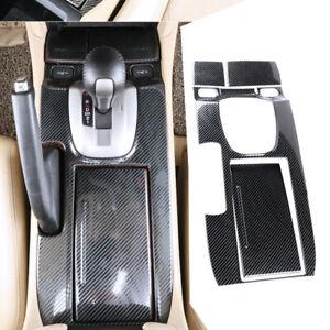 Karbonfaser Schalthebel Abdeckung Trim Frame passt für Honda Accord 08-12