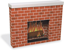 Pacon Pac53080 Corobuff Cardboard Fireplace Decoration, 38inx30inx7in