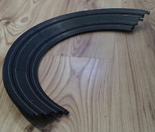 Micro Scalextric 1:64 Track - L7550 Banked Curves Bends x 4 - BLACK