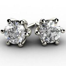 Good Cut White Gold 18 Carat Fine Diamond Earrings